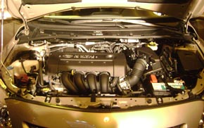 Motor Toyota Corolla 2008