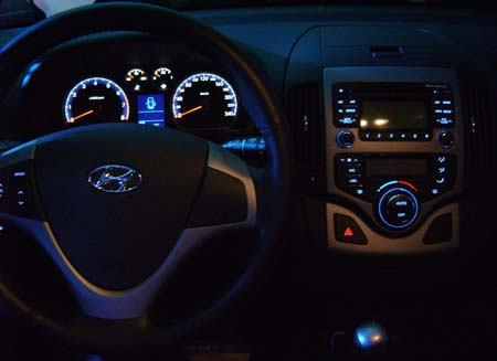 Hyundai i30 tablero