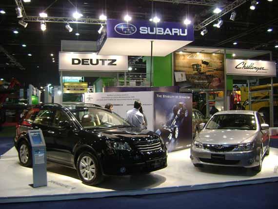 Stand Subaru 122 Exposicion rural