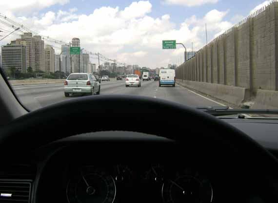 Fiat Linea avenida Morumbi