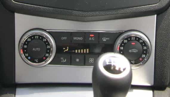 Climatizador Mercedes Benz C200