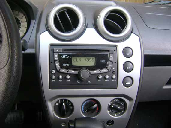 Tablero Central Ford Fiesta Max