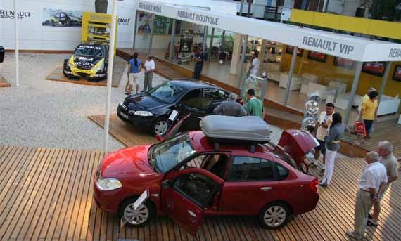Renault en Pinamar
