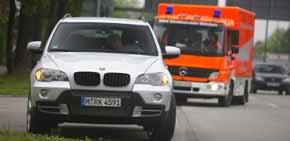 Parada de Emergencia BMW