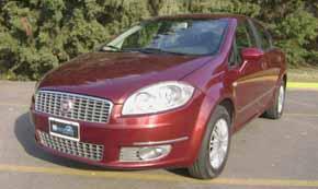 Test Drive Fiat Linea