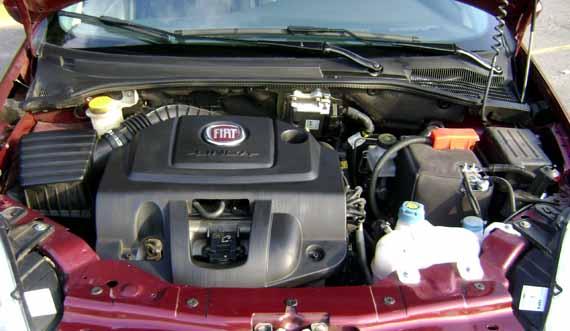 Motor Fiat Linea