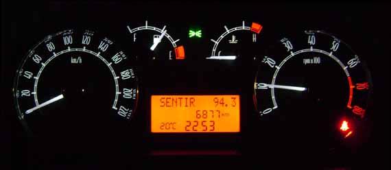Tablero Fiat Linea Nocturno