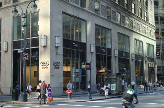 Audi Forum New York City