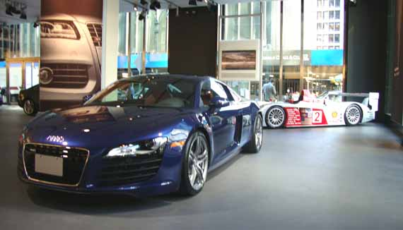 Audi R8 Forum NY City