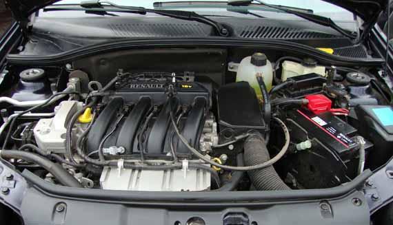 Motor Renault Symbol