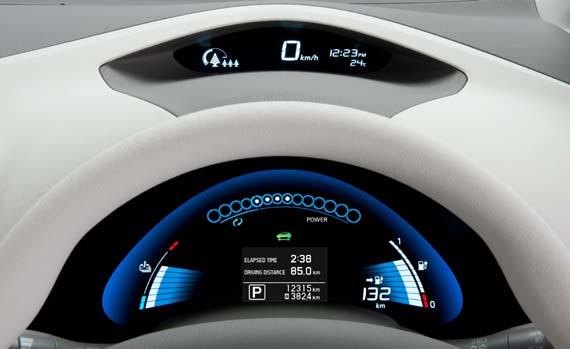 Tablero Nissan Leaf