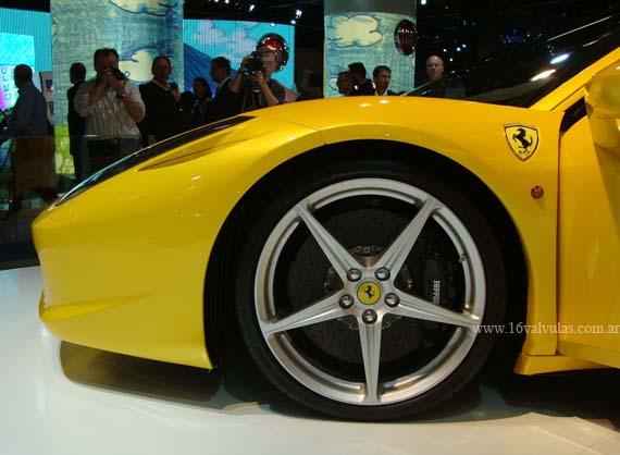 Ferrari 450, será lanzada en el Salón de Frankfurt