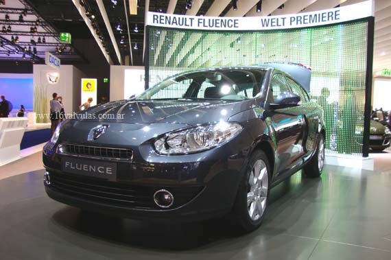 Renault Fluence 1.6 en detalle