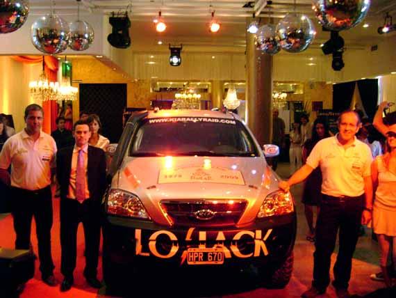 Kia en el Dakar 2009